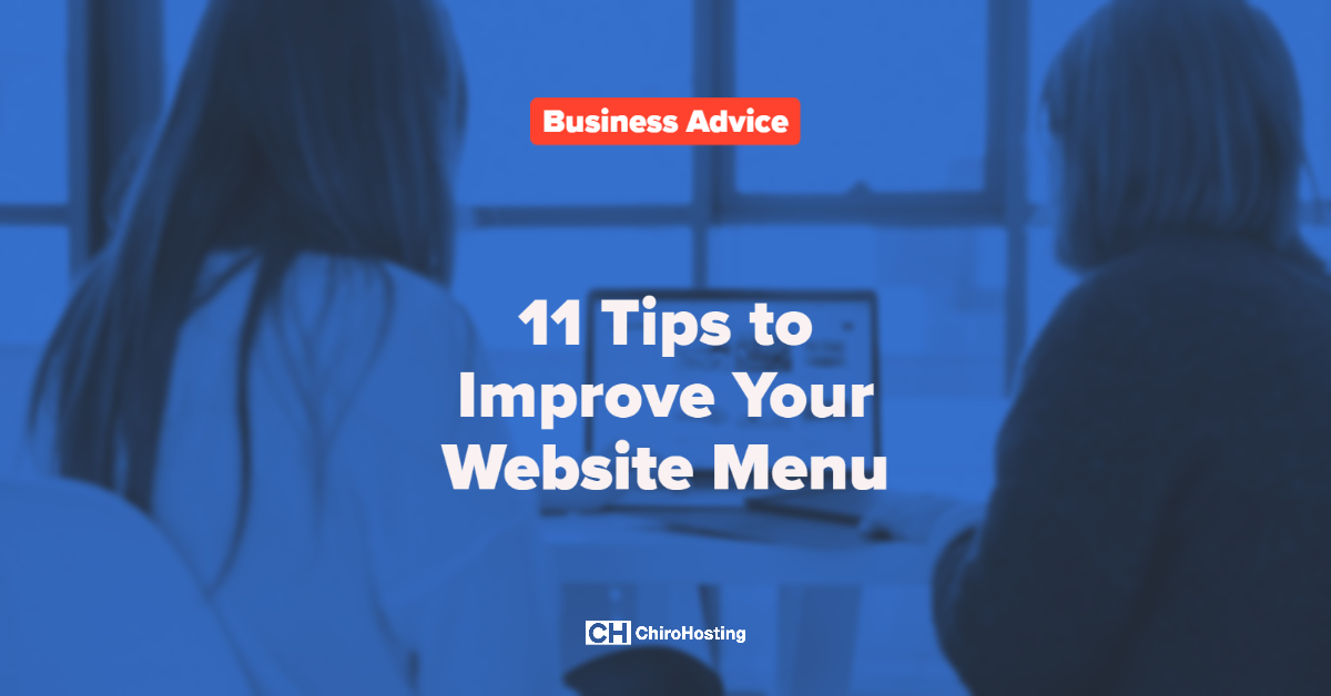 11 Tips to Improve Your Website Menu