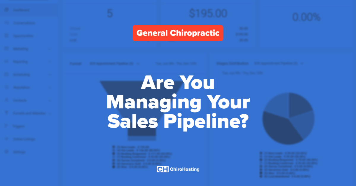 Are You Managing Your Sales Pipeline?