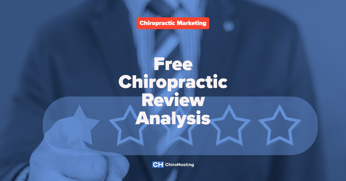 Free Chiropractic Review Analysis