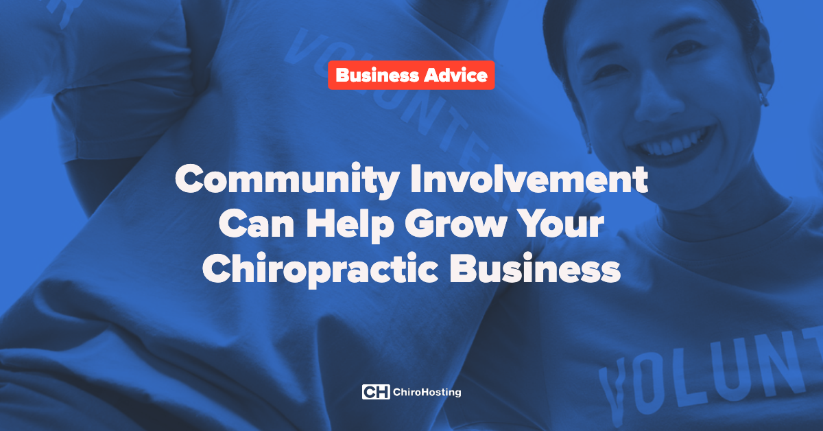 How Community Involvement Can Help Grow Your Chiropractic Business
