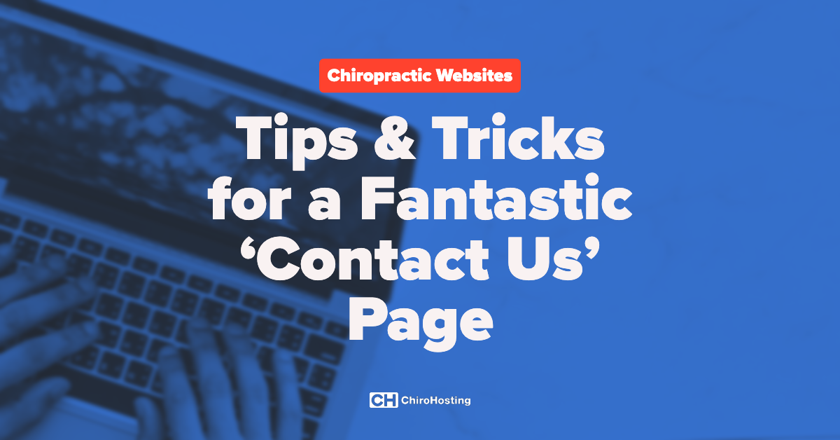 Tips & Tricks for a Fantastic 'Contact Us' Page