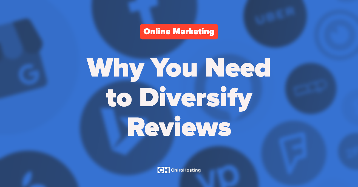 Why You Need to Diversify Reviews