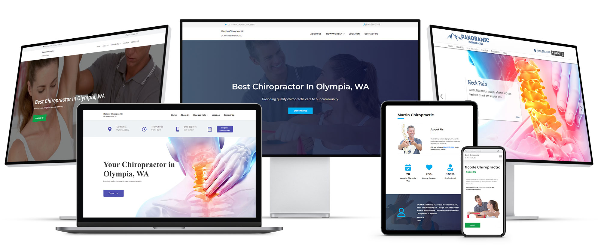 Start with the best chiropractic website