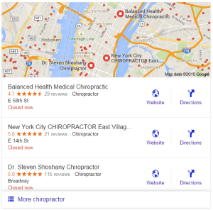 Google Testing New Local Pack Results