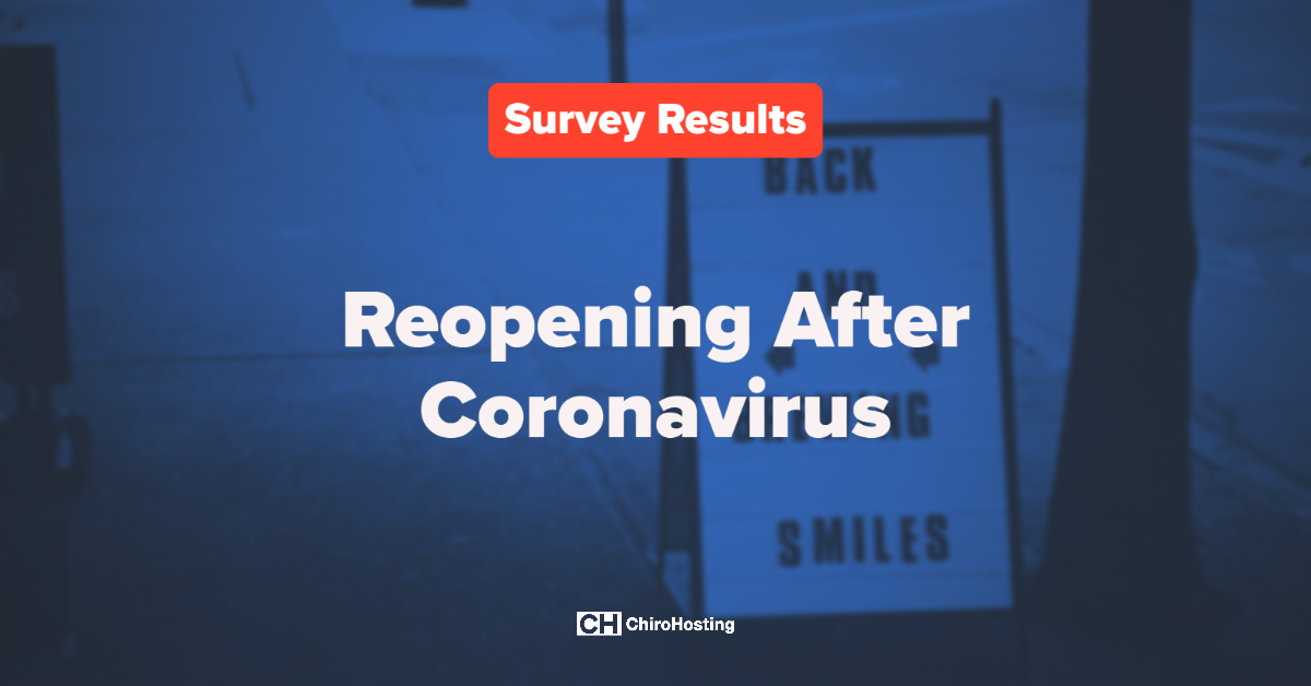 Survey Results: Reopening After Coronavirus